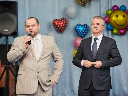 M. Zagornov is awarded for charity by a diploma of the Administration of Chelyabinsk