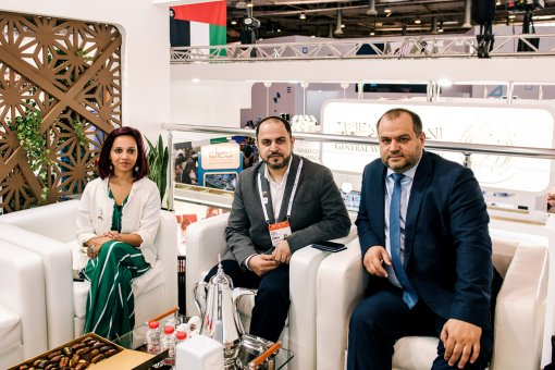 Maksim Zagornov participated in negotiations with Dubai Electricity and Water Authority (DEWA)