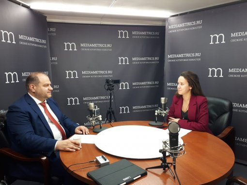 Maksim Zagornov on the radio «Mediametrix» told about the prospects of the power sector development