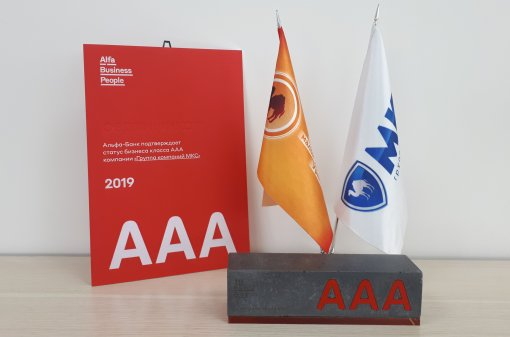 The MKS Group of Companies is awarded the status «AAA Class Business»