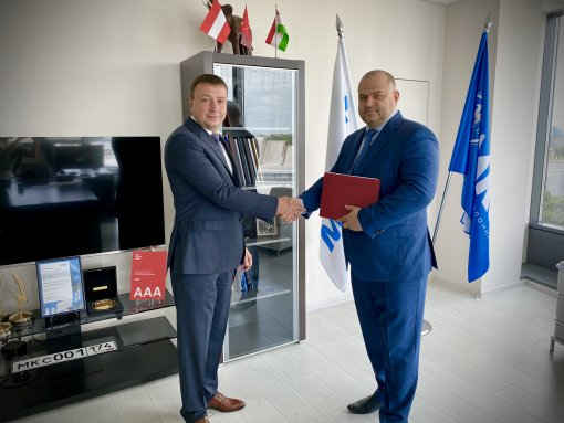 MKS Group of Companies signed the agreement on the implementation of an investment project at the territory of Malaya Sosnovka industrial innovations park