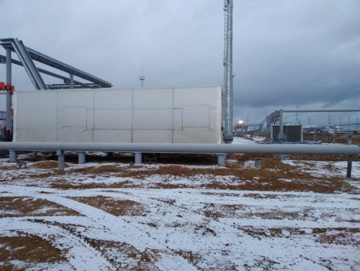 Gas treatment unit for oil and gas company