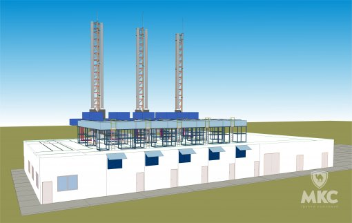 Energy centre for an oil-producing deposit | 10 MW