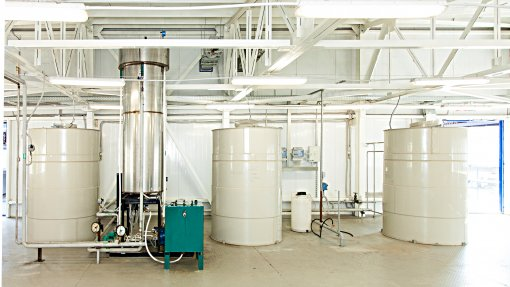 Energy center for the plant chemical products | 6 MW